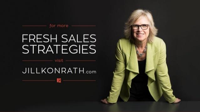 Fresh sales strategy blog