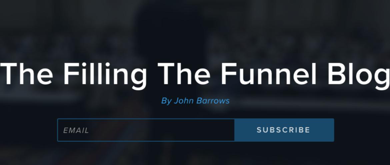 Filling The funnel sales blog
