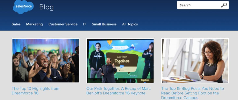 Salesforce blog