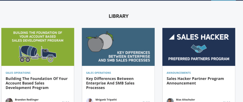 Sales Hacker Blog