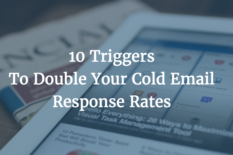 cold email triggers