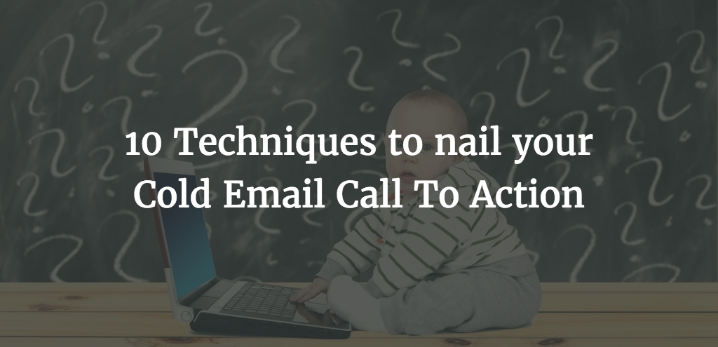 cold email call to action