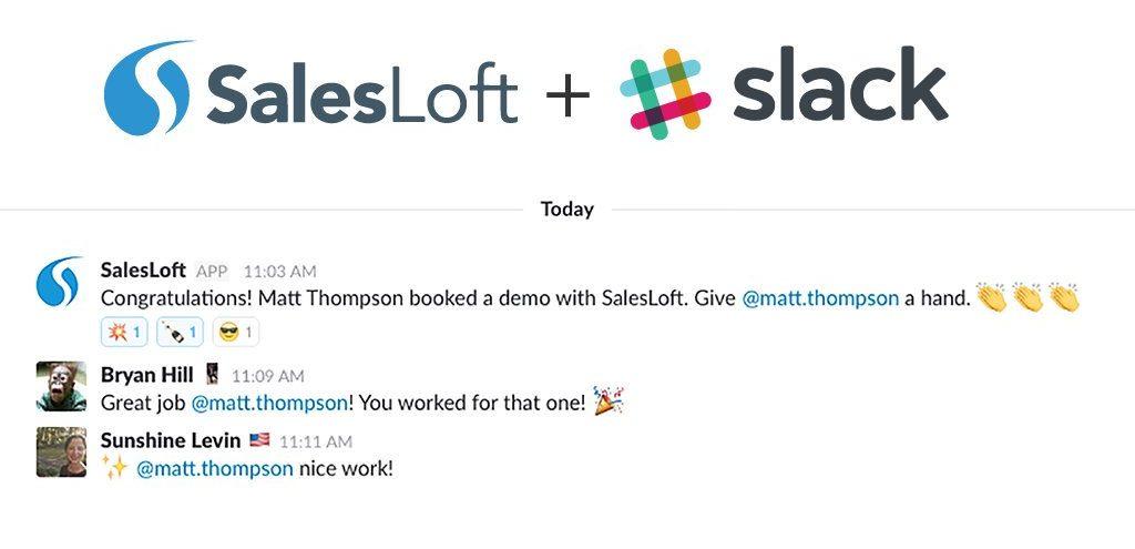 salesloft slack integration