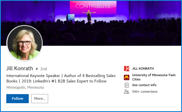 Background Picture | LinkedIn for B2B Sales