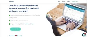 Email sequence software - PersistIQ